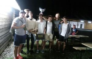 Die Siegermannschaft des FC Maxlrain