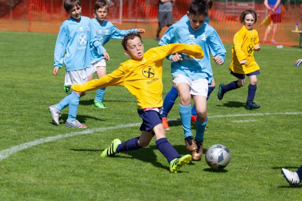 Mattia 1:0 gegen Bruneck